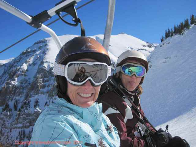 Girls' Day Out at Telluride.