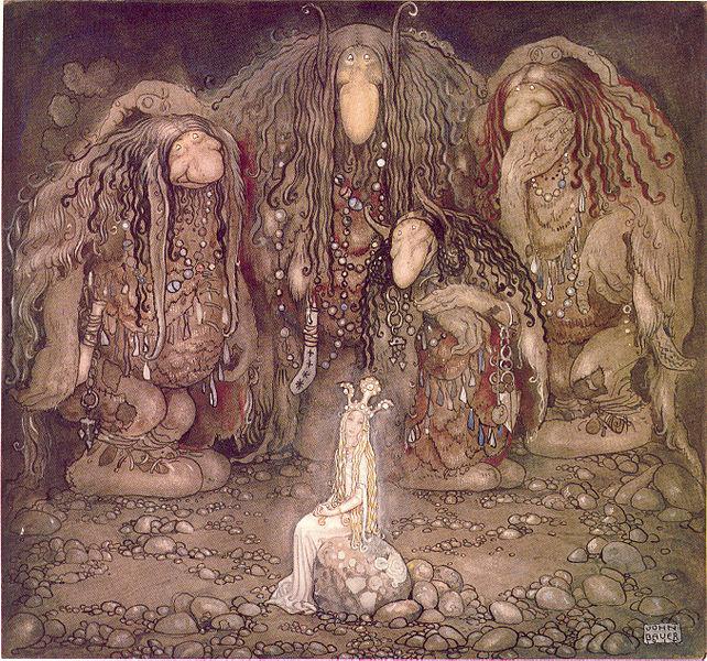 trolls john bauer 1915