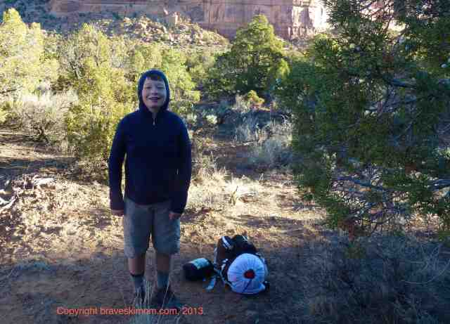backpacking colorado national monument