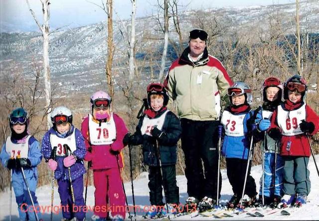 Ski school is fun!