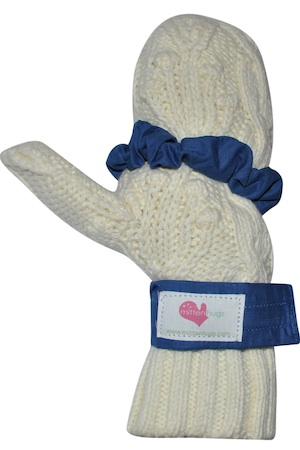 wrapped mitten in mittenhugs