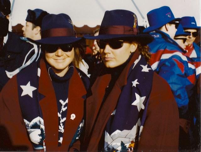 Edie Thys Morgan 1992 winter olympics