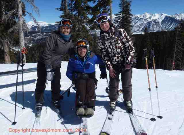 Another beautiful colorado ski day with friends purgatory