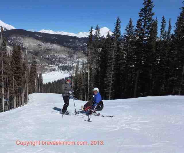 skiing at purgatory engineer mountain