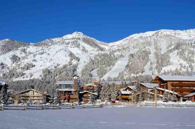 teton village jackson hole wyoming ski