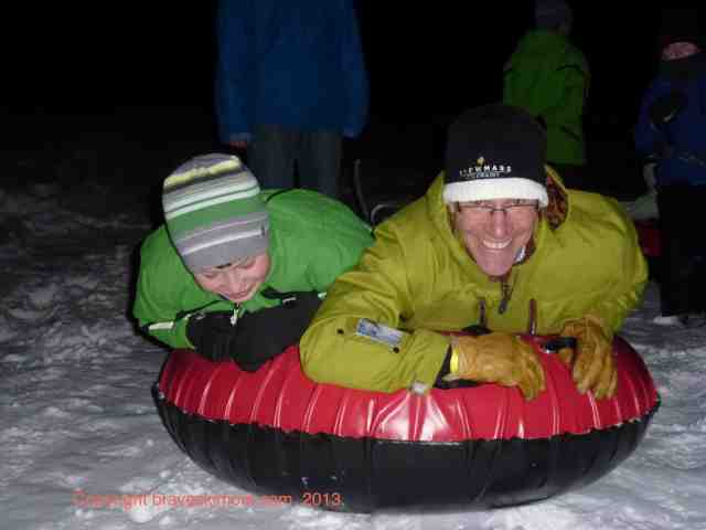 ullr nights tubing fun snowmass