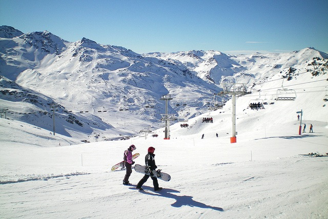 val thorens snowboarding