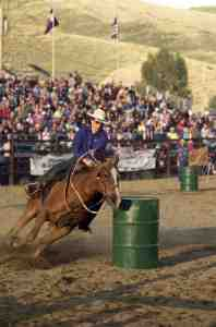 Beaver creek rodeo barrel racing