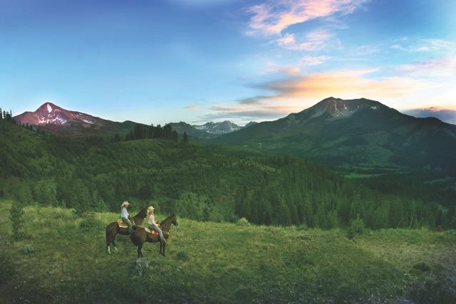 moonlight basin horses montana