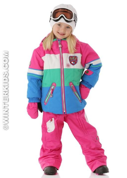 Obermeyer Girls Posh Jacket in Blue Ray