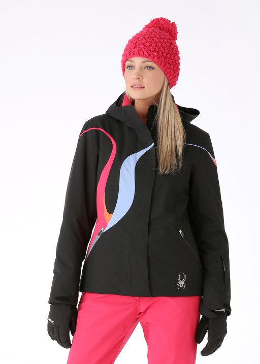 Spyder Powder Jacket Black Flirt