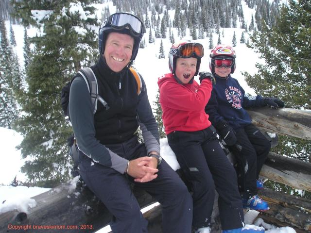 family skiing snowmass colorado