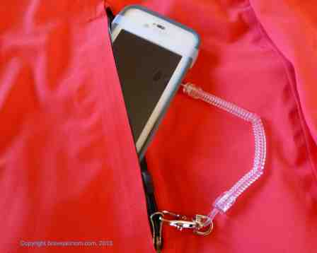 my bunjee phone leash