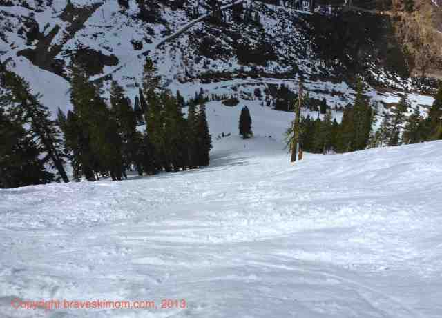 squaw valley west bowl chutes