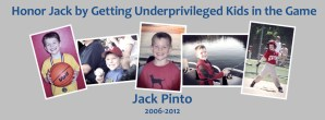 Honoring Jack Pinto and Getting More Kids In the Game