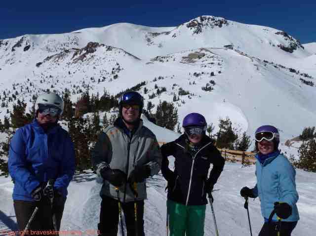 mammoth ski friends 2013