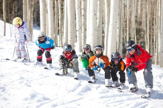 learn to ski aspen snowmass