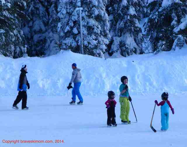 hockey at silver star bc