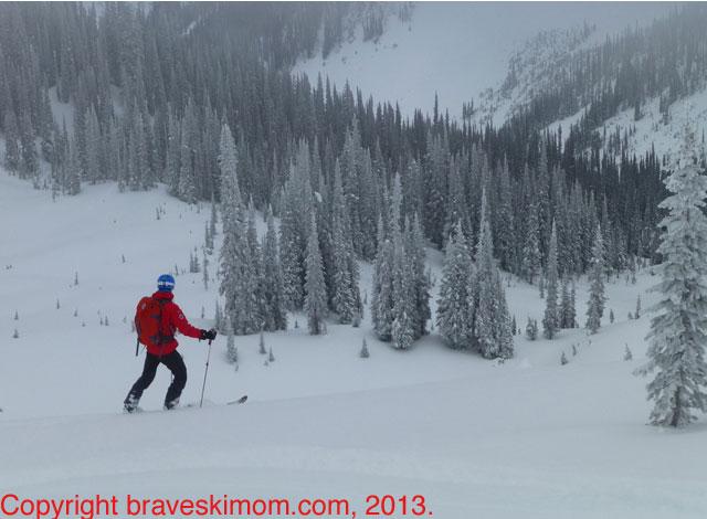pierre heli ski guide