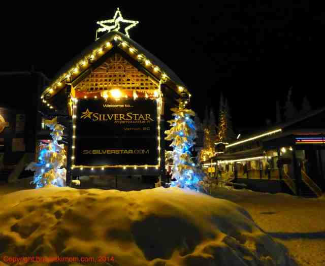 silver star bc at night