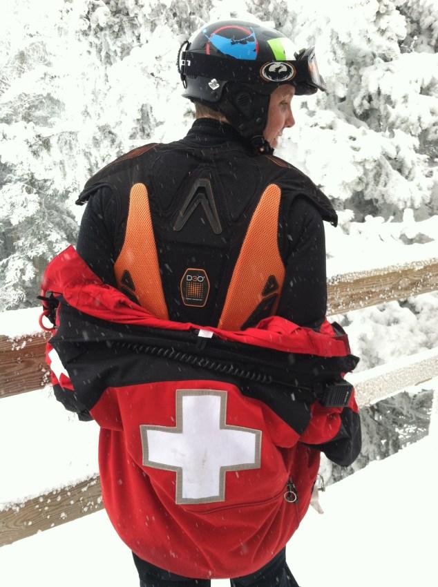 ski protection demon