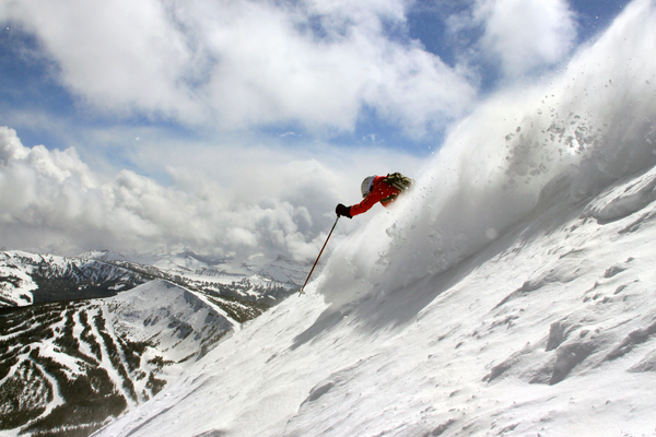 big sky skiing montana