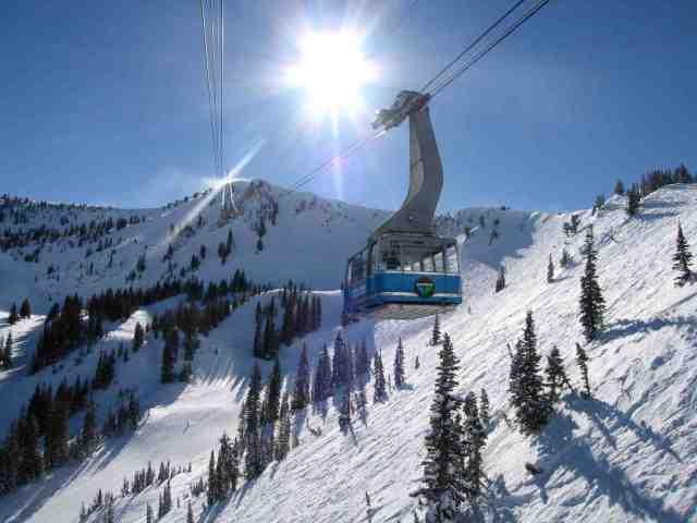 snowbird winter tram