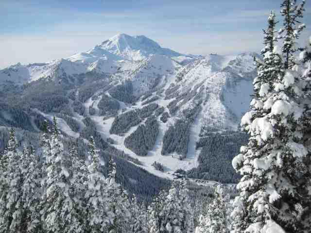 mount rainier crystal mountain