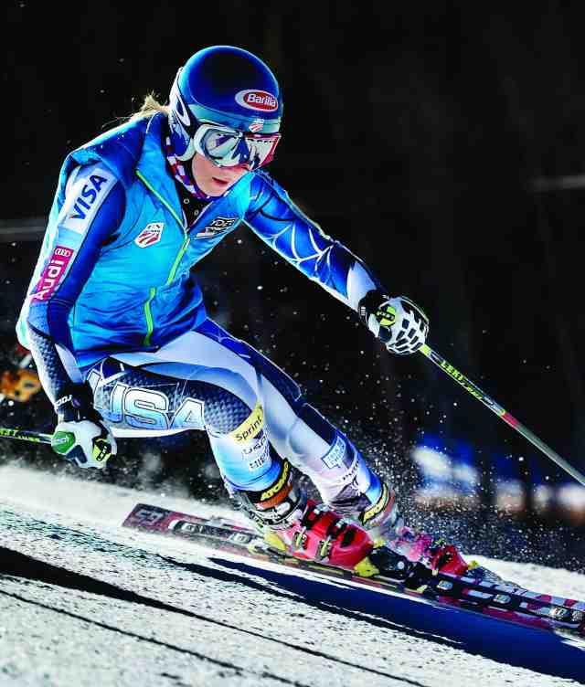 mikaela shiffrin skier