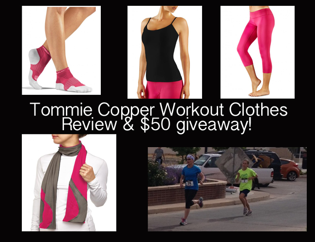 tommie copper workout clothes