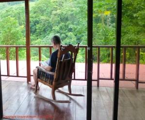reading at posada colonial la fortuna