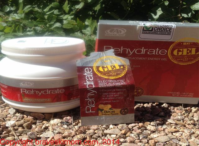 rehydrate powder and gel