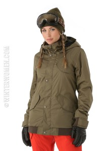 2014 ski fashion Burton wren jacket