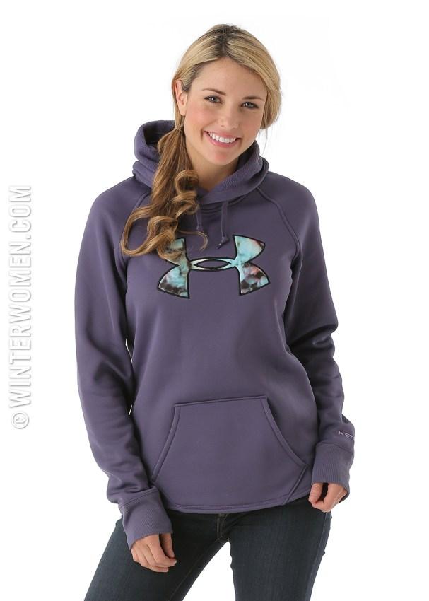 under armour hoody purple