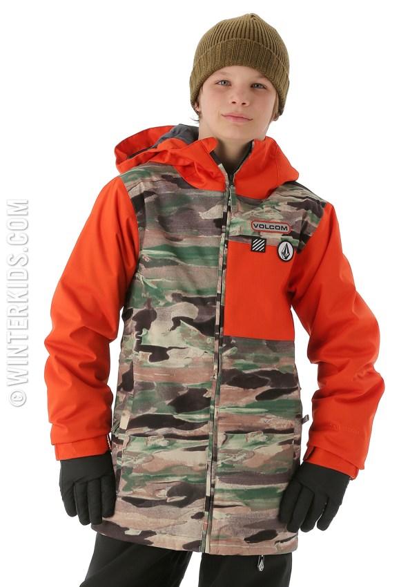volcom boys ski coats