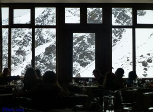 dining room ski portillo