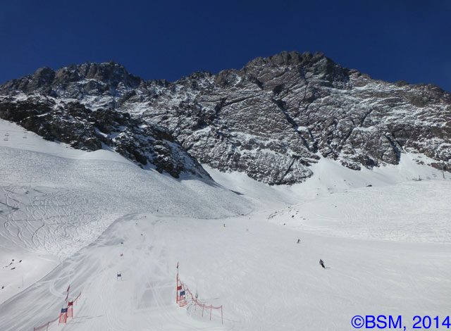groomed slope portillo