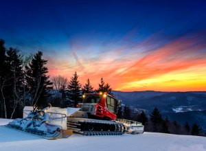 grooming ski runs at snowshoe west virigina