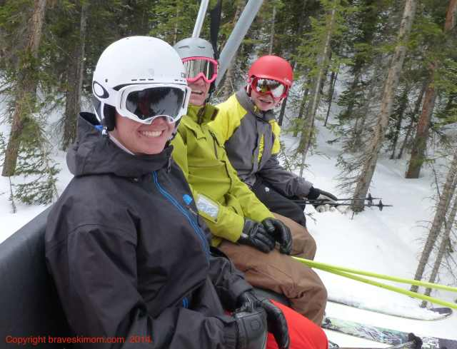 family skiing breckenridge colorado