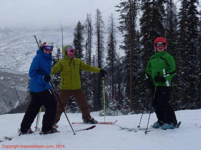 family ski day beaver creek