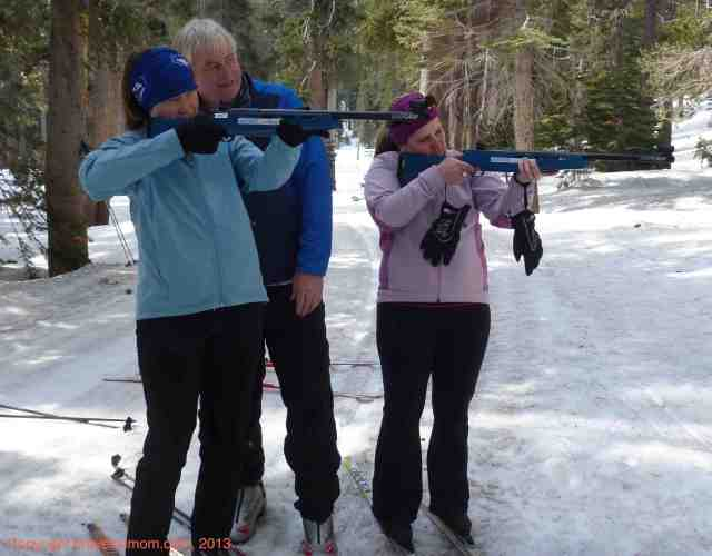 biathlon at tamarack california