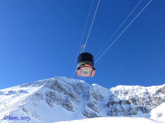 Lone mountain tram big sky montana
