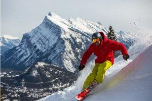 skiing mount norquay