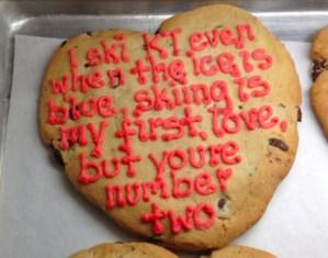 valentine wildflour cookie
