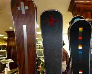 test, scadin and spada zai skis