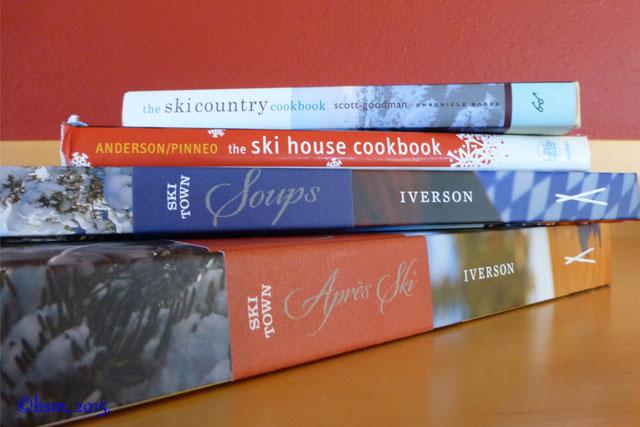 ski themed cookbooks