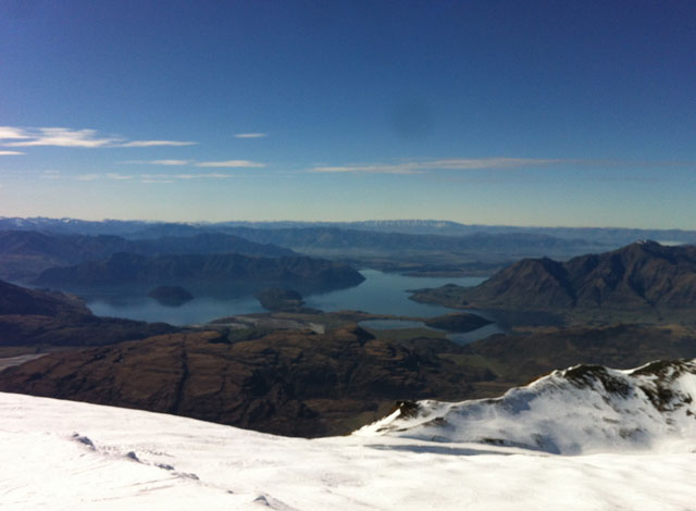 ski view treble cone new zealand