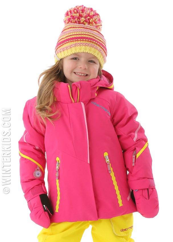 obermeyer brier jacket in wild pink
