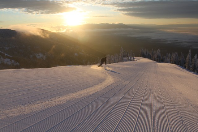 groomed runs whitefish