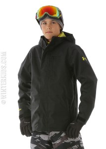 under armor boys ski jacket
